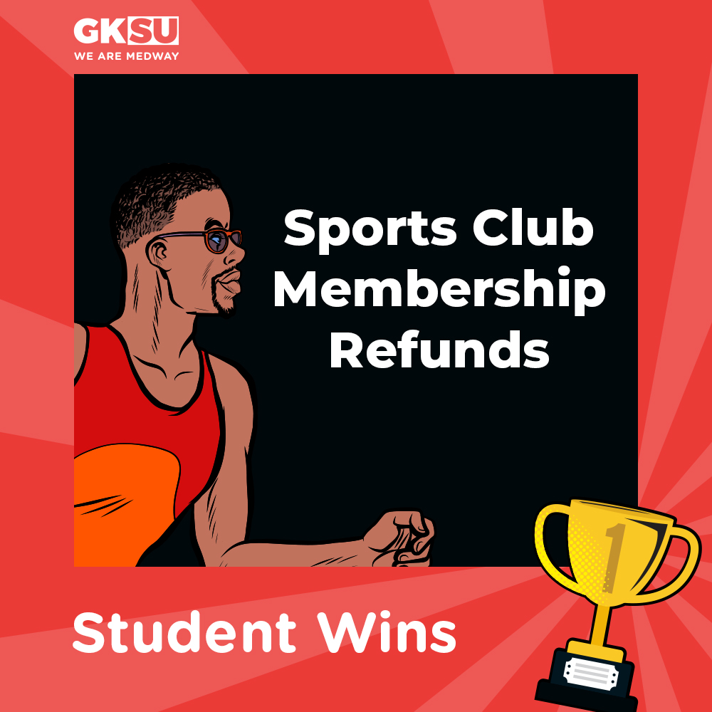 Sports Refunds for all Medway Students